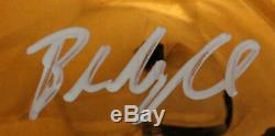 Baker Mayfield Autographed/Signed Cleveland Browns Chrome Mini Helmet BAS 22919