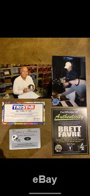 Bart Starr Signed Auto Pewter Packers Mini Rodgers Favre Super Bowl 1 2 31 45