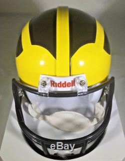Charles Woodson / Autographed Michigan Wolverives Mini Helmet Certified in Box