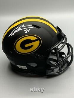 Charles Woodson Green Bay Packers Signed Mini Helmet with Fanatic COA