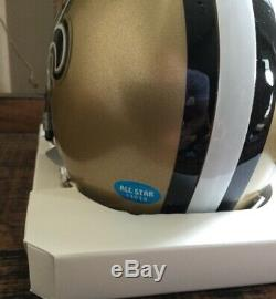 Drew Brees / Michael Thomas Autographed Signed New Orleans Saints Mini Helmet with