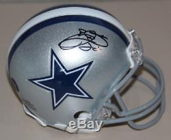 Emmitt Smith Signed Autographed Mini Helmet Prova Authenicated Dallas Cowboys