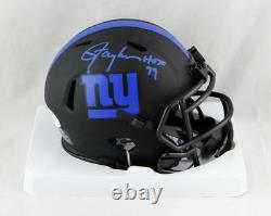 Lawrence Taylor Autographed NY Giants Eclipse Mini Helmet withHOF Beckett W Auth