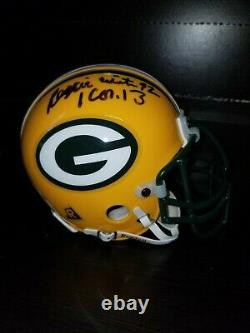 REGGIE WHITE GREEN BAY PACKERS AUTOGRAPHED Signed MINI HELMET PSA/DNA