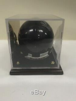 Signed Autographed Walter Payton HOF Chicago Bears Mini Helmet with COA