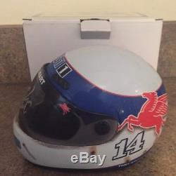 Tony Stewart MOBIL 1 HAAS Automation AUTOGRAPHED Signed 1/3 Scale Mini Helmet