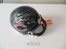WALTER PAYTON Signed Autographed Chicago Bears Mini Helmet withCOA